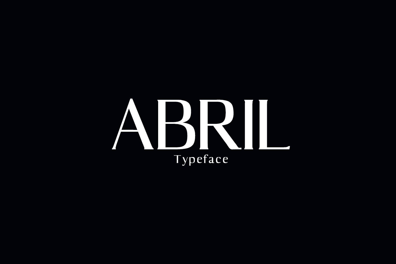 Abril Serif Typeface example image 1