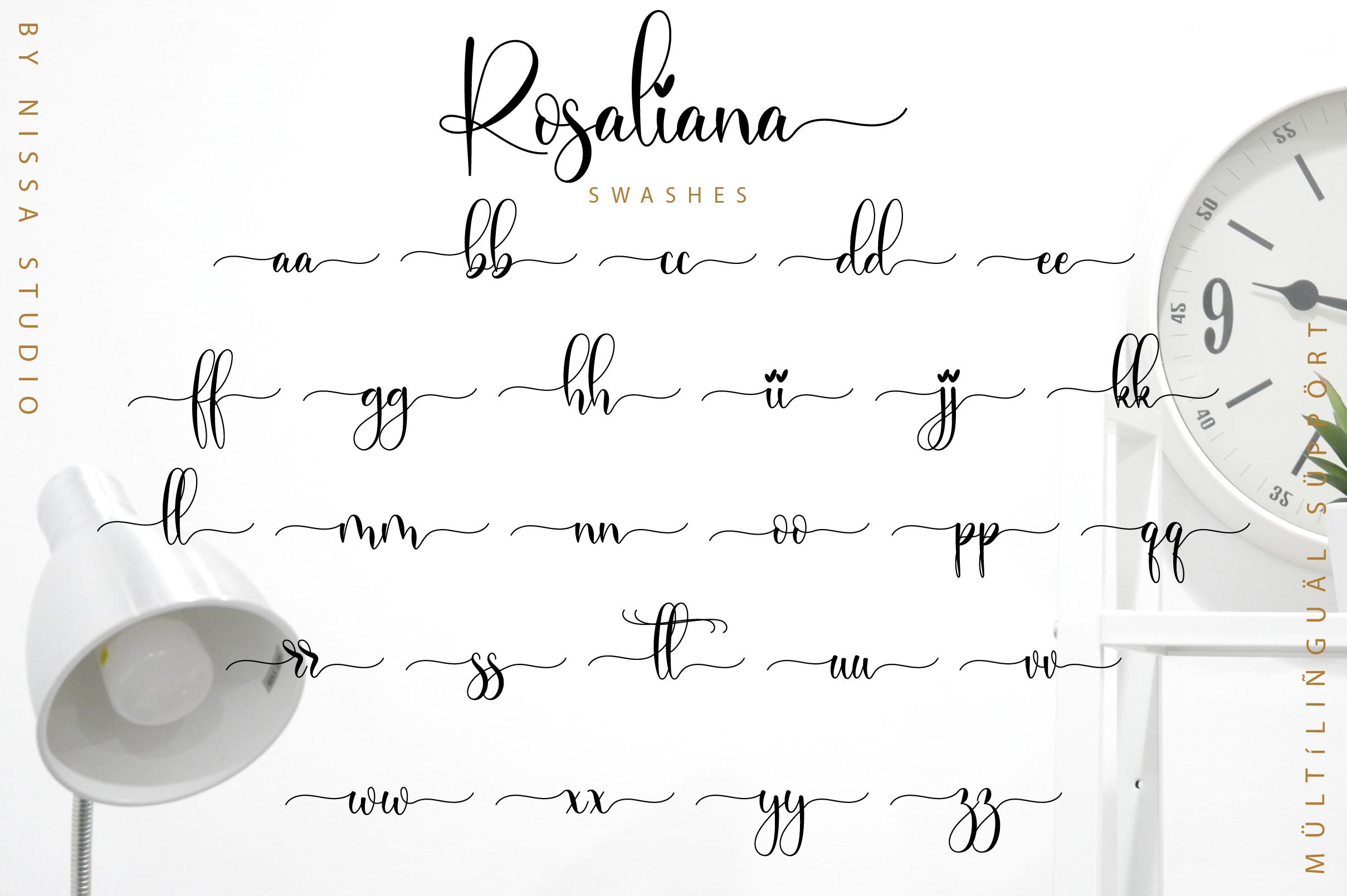 Rosaliana Script example image 12