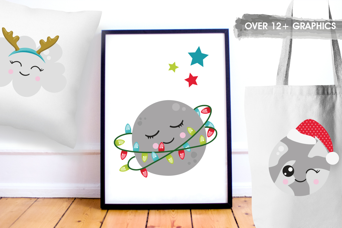 Christmas Dreams graphics and illustrations example image 5