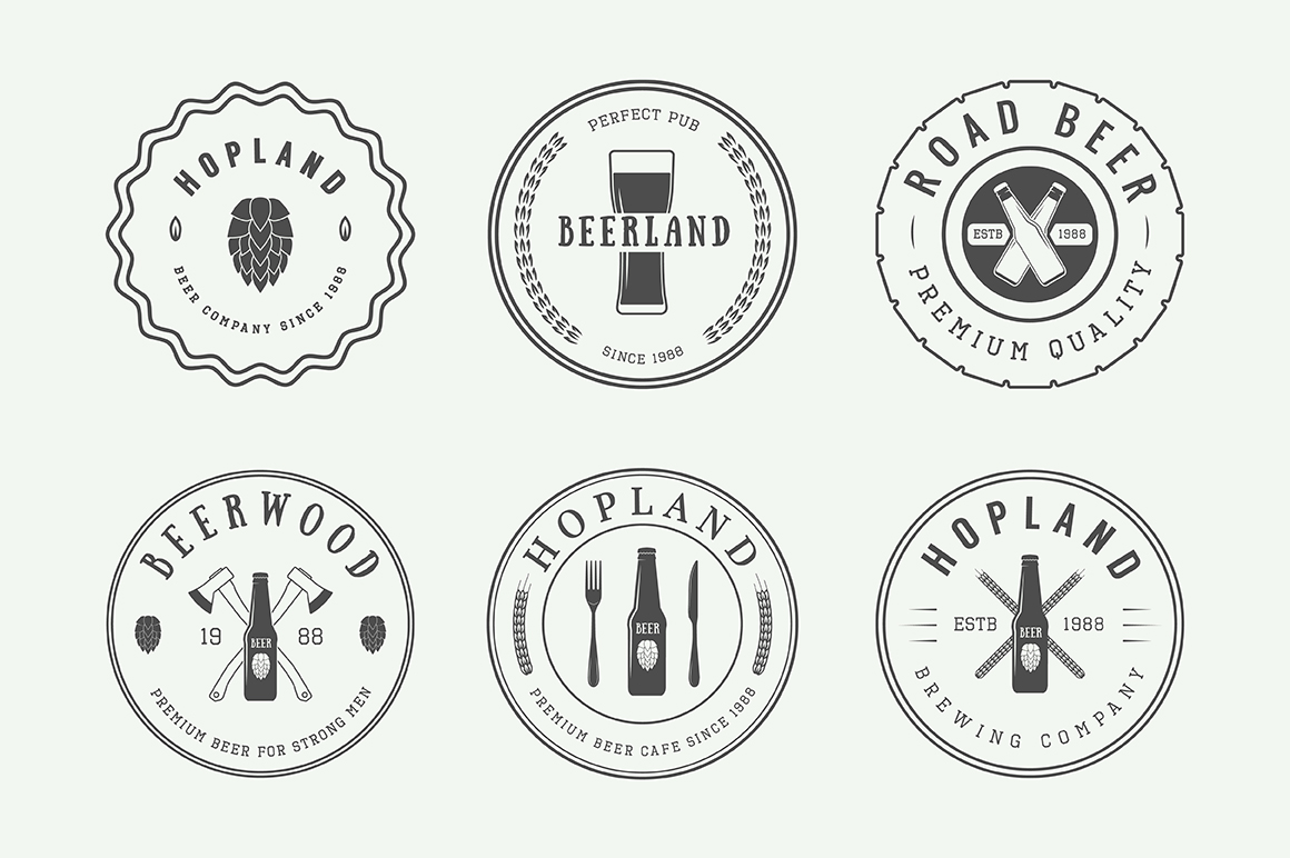 Beer Emblems Bundle example image 7