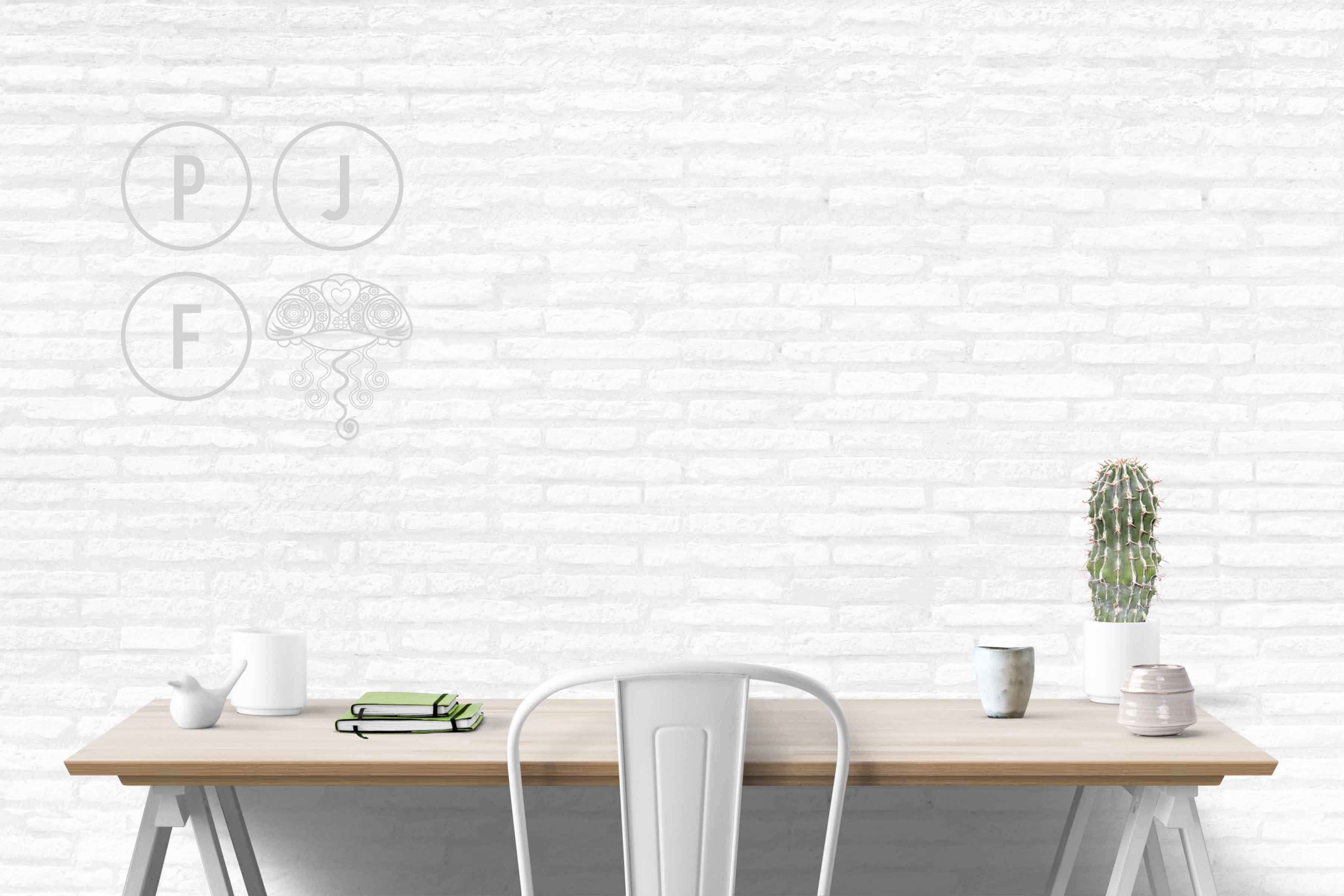 wall mockup, interior wall, desk mockup, blank wall mockup example image 5