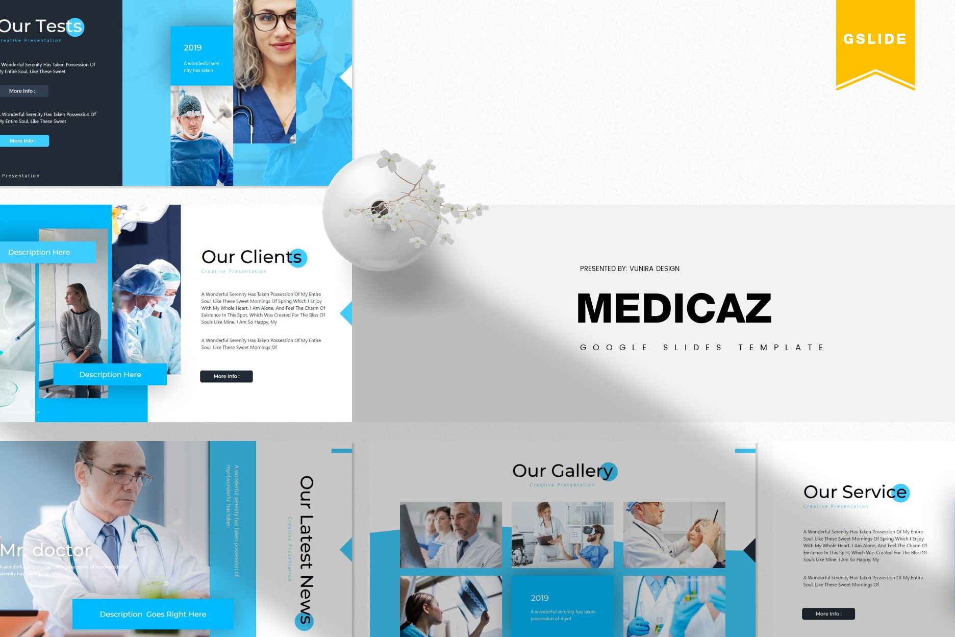 Medicaz | Powerpoint, Keynote, GoogleSlides Template example image 2
