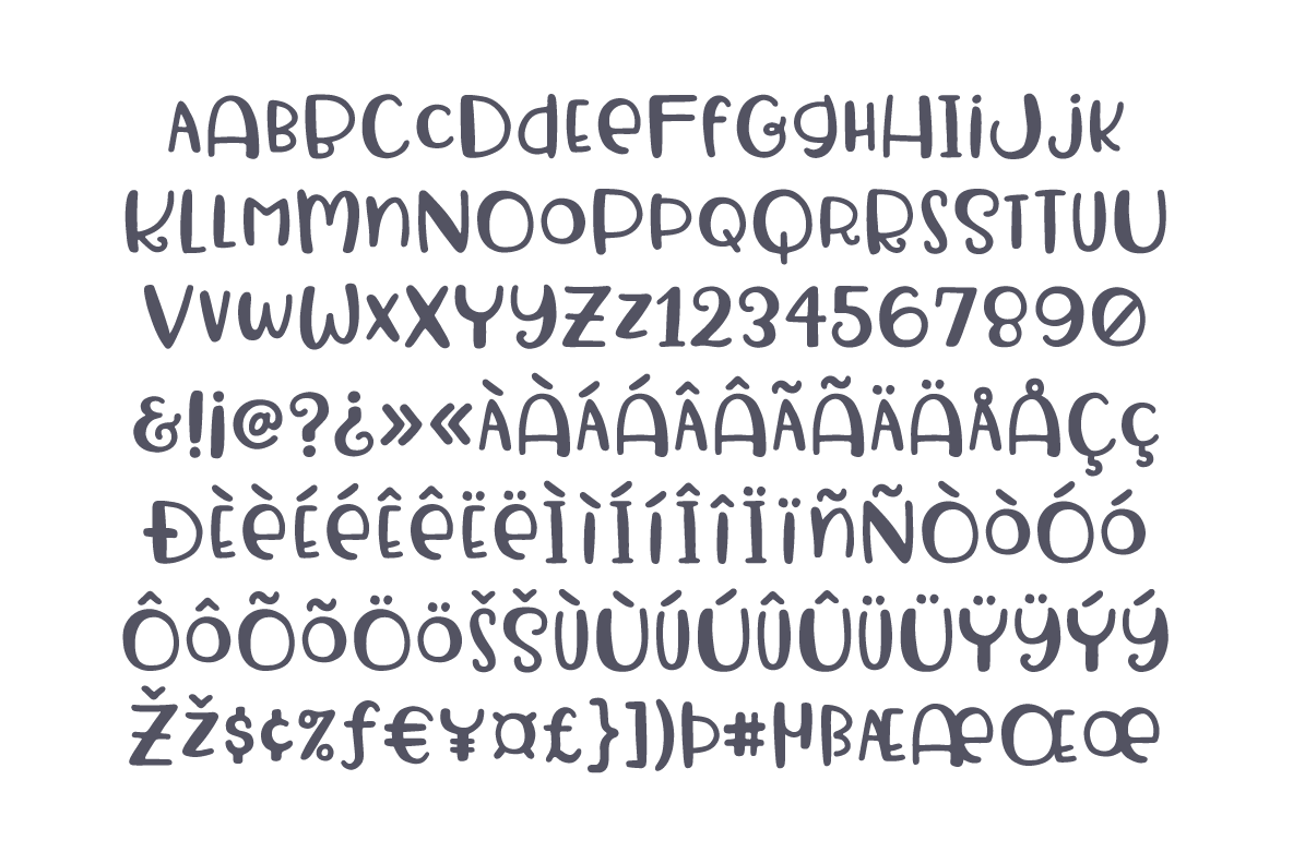 Sweet & Silly Font example image 6