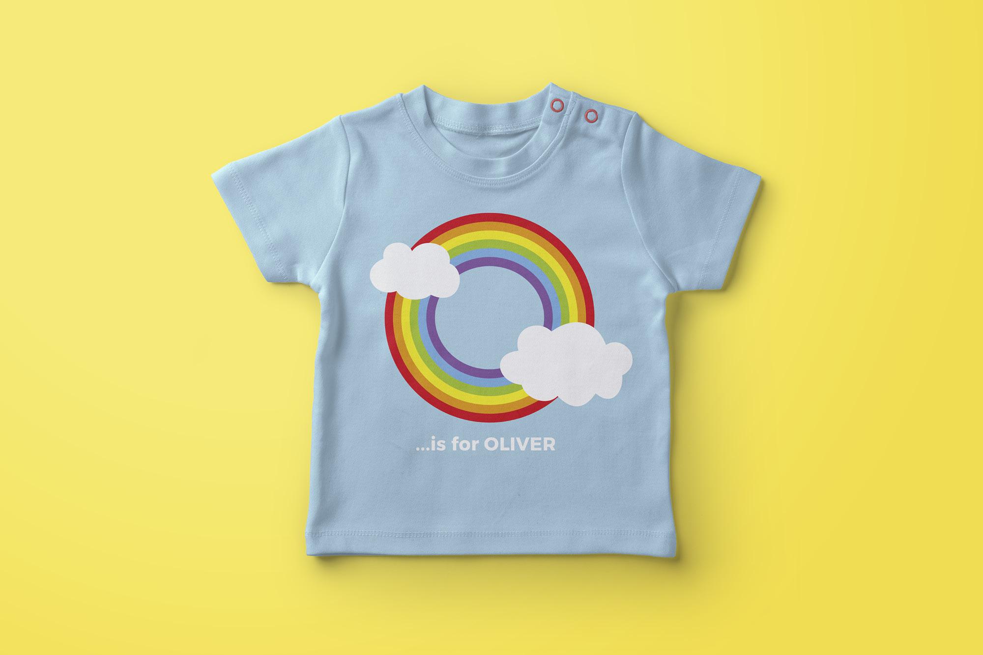 Rainbow Ryder EPS Font example image 5