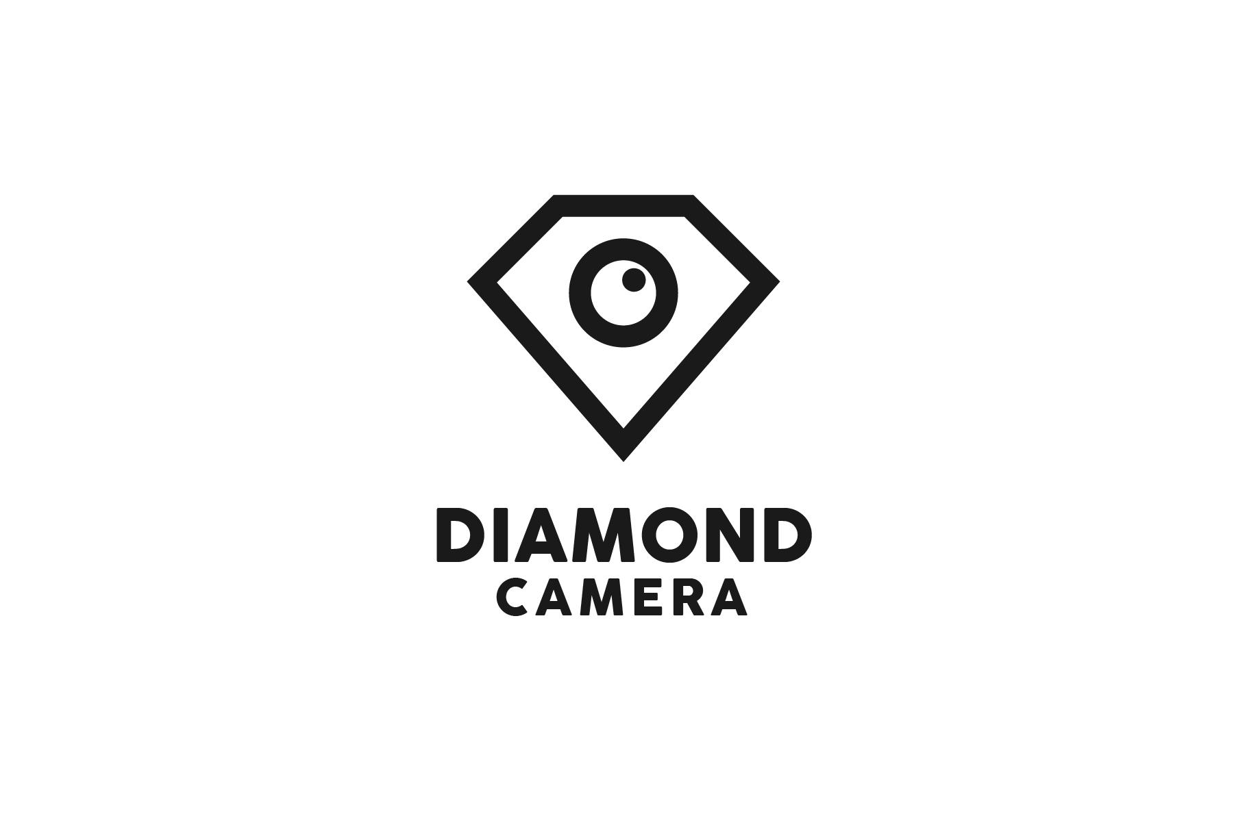 Diamond Camera Logo example image 1