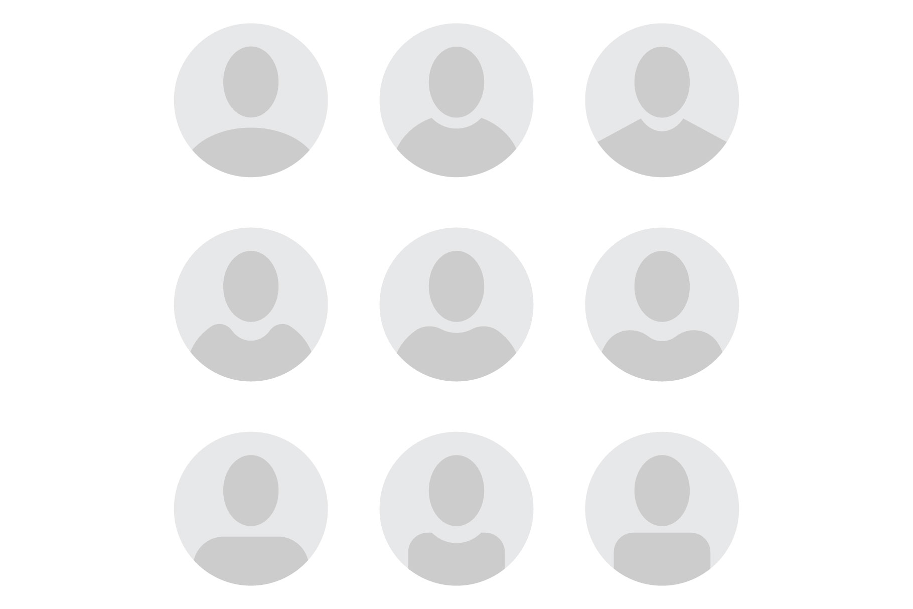 Anonymous User Icons example image 2