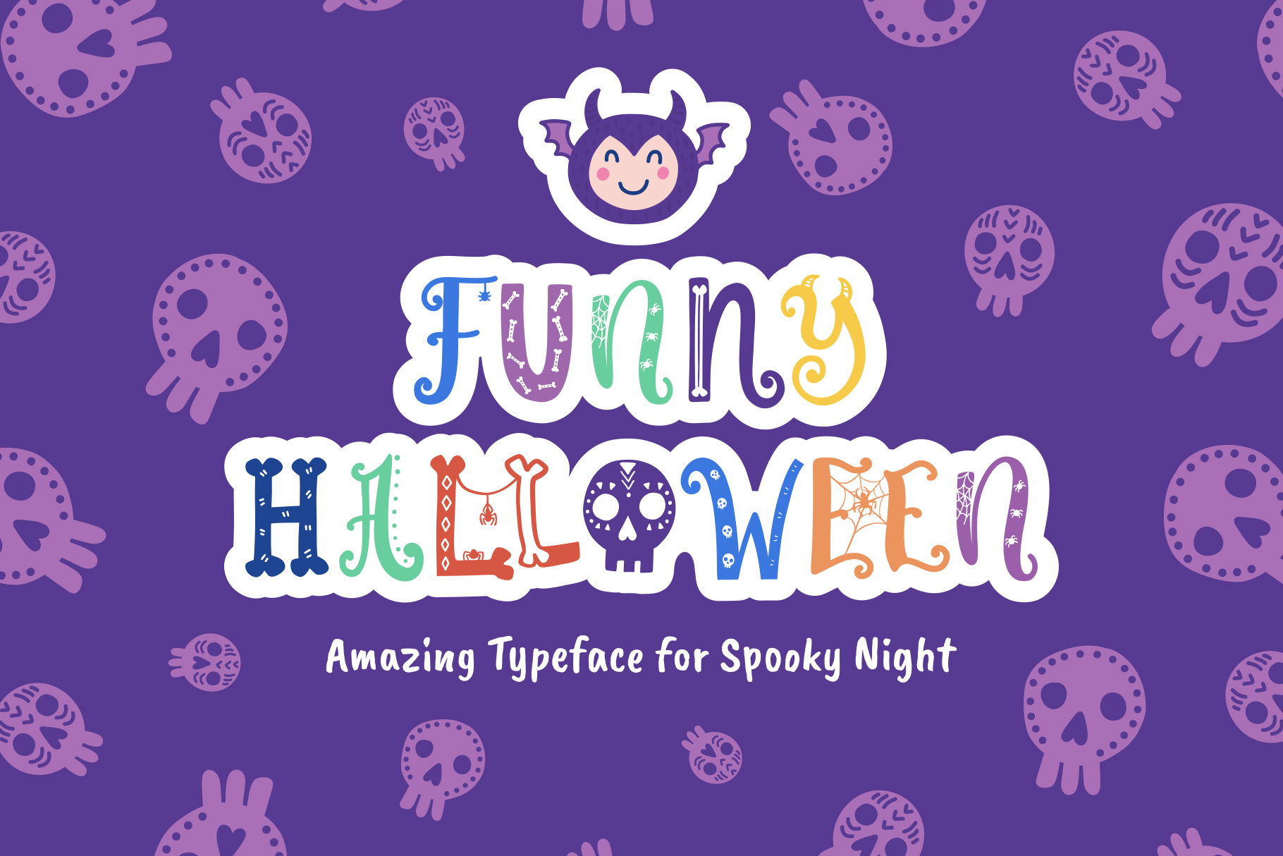 Funny Halloween Font example image 1