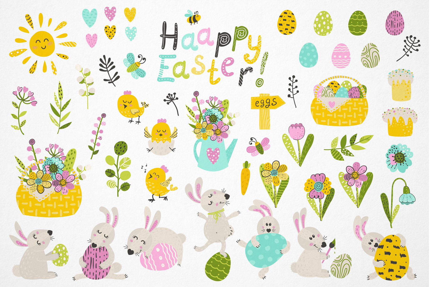 Bunny and Easter! example image 2