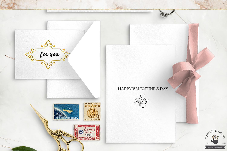 Valentines Flourishes example image 3