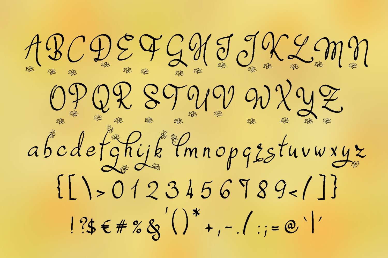 Dafodyl Font example image 2