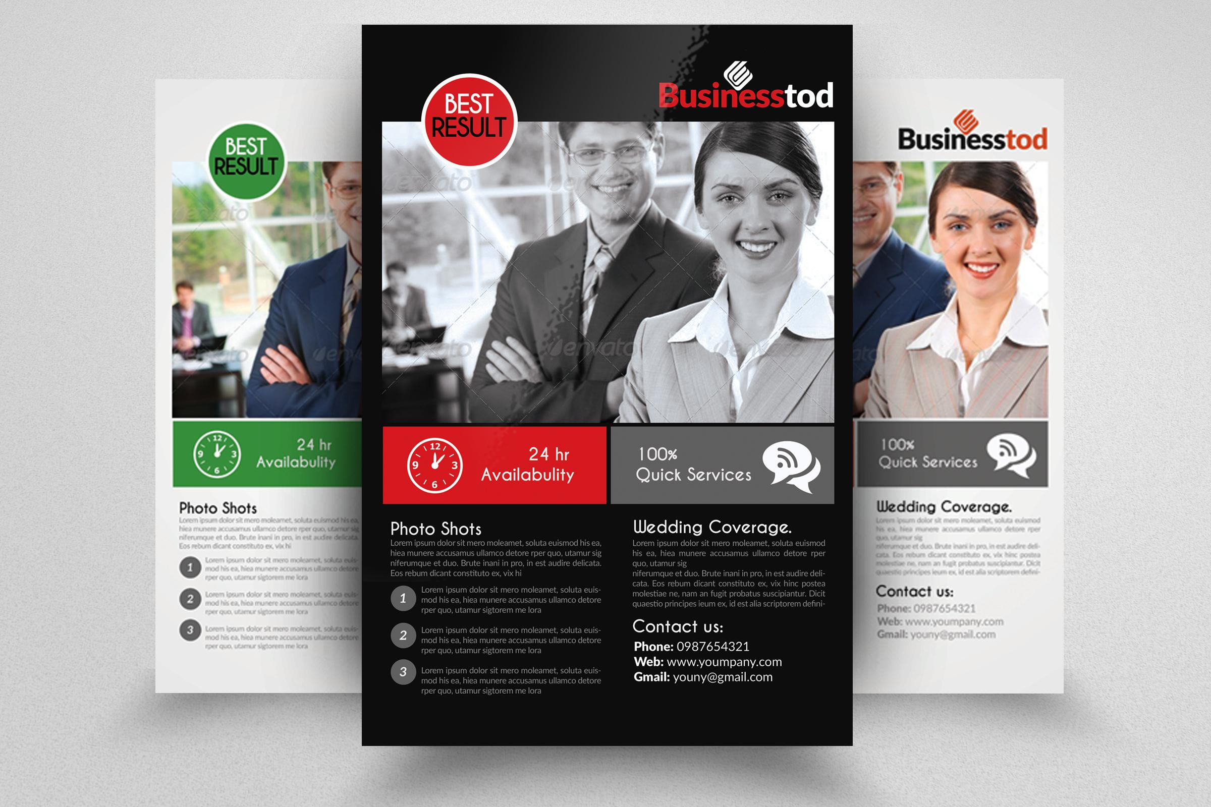 7 Business Flyers Bundle example image 6