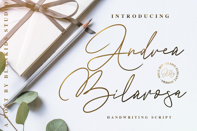 Andrea Belarosa - Beauty Font example image 1