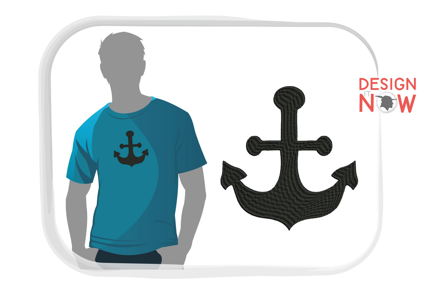 Anchor Embroidery Design, Anchor Embroidery Pattern example image 4