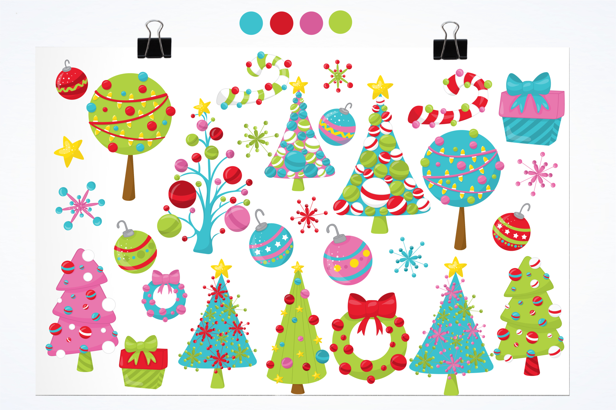Christmas Décor graphics and illustrations example image 2