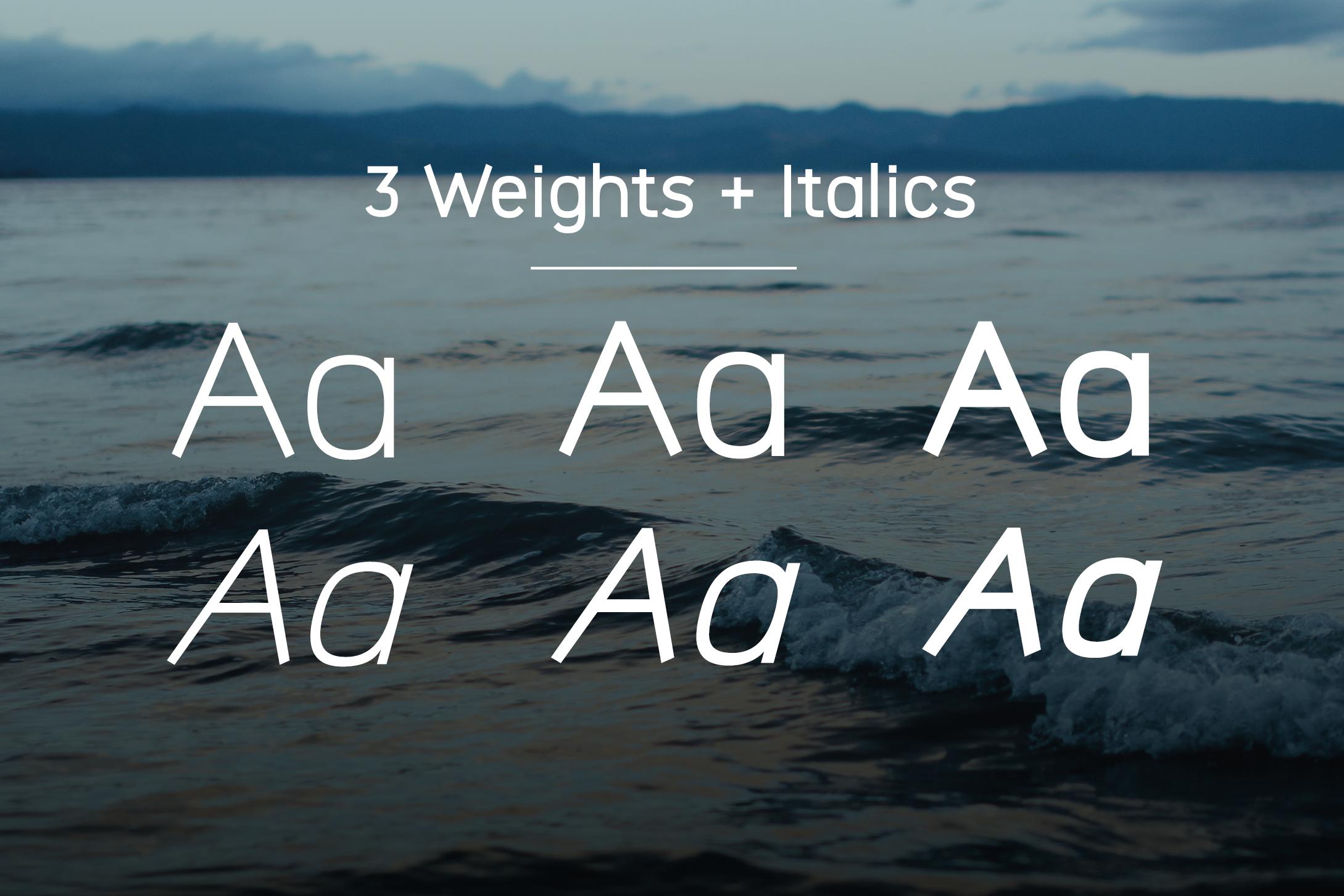 Logico-Sans Simple Modern Font example image 4