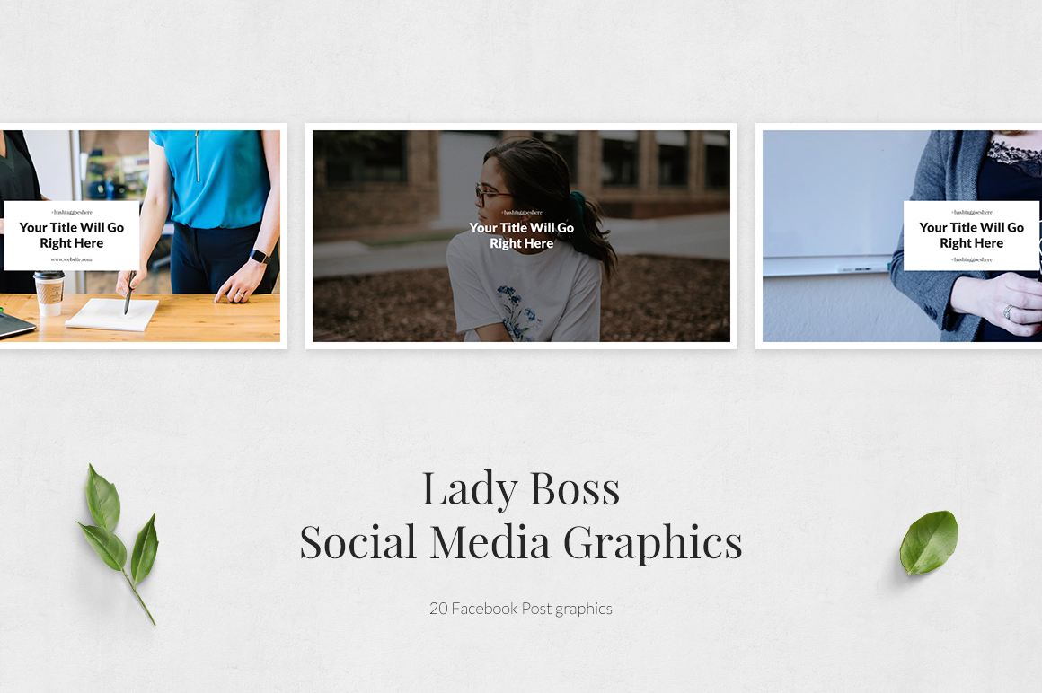 Lady Boss Facebook Posts example image 2