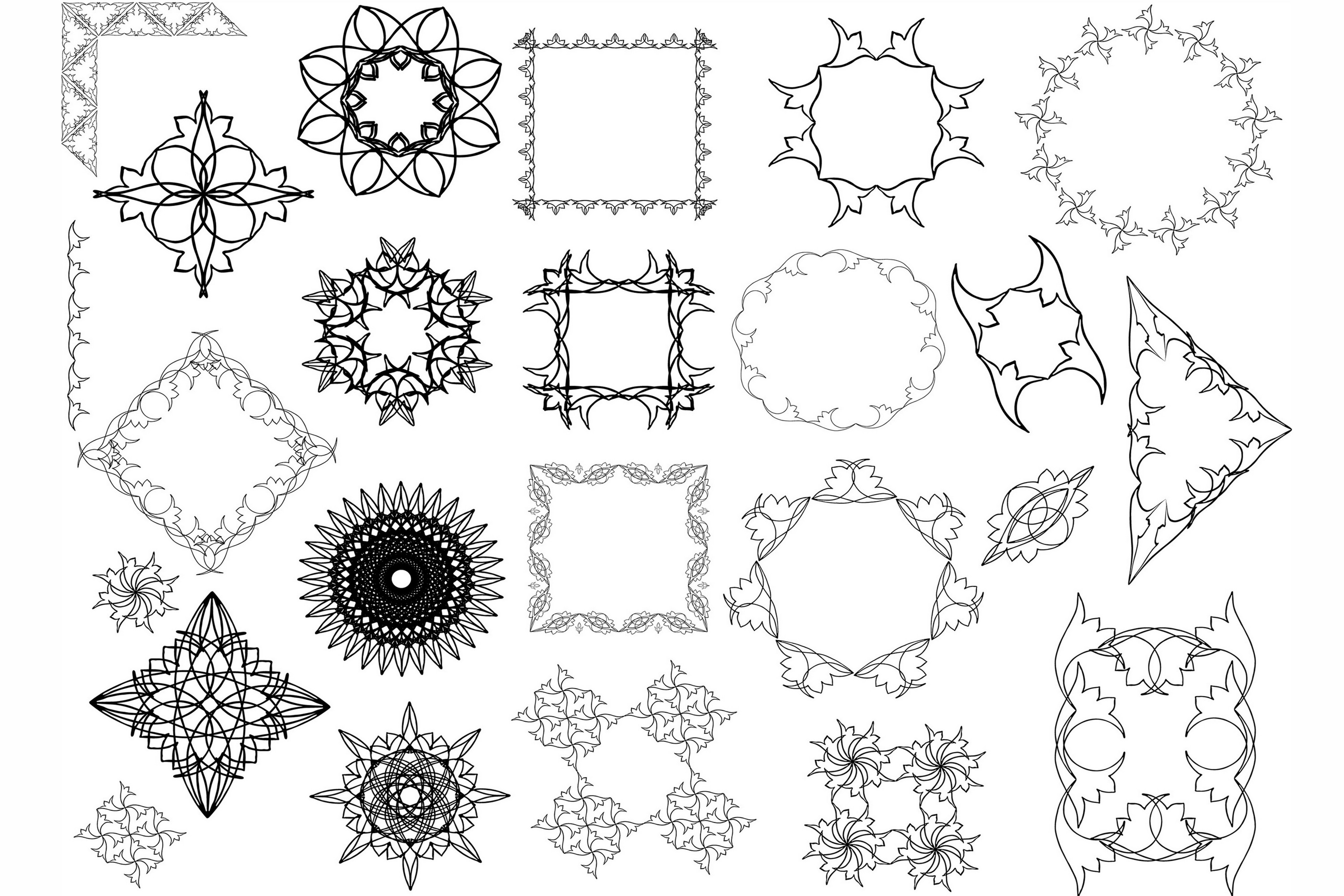 Hand Drawn Vector Design Elements_Volume 1 example image 2