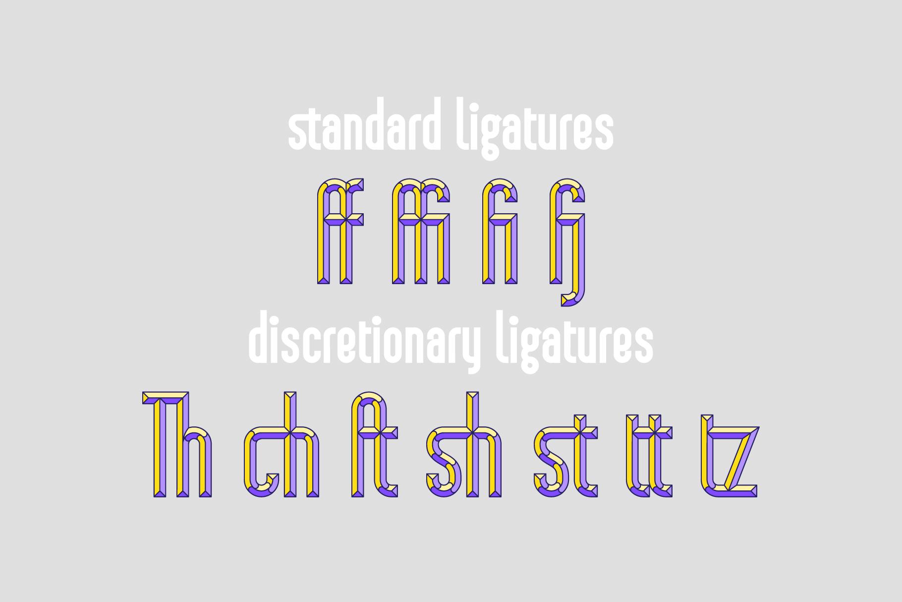 Sansterdam Color Font example image 2