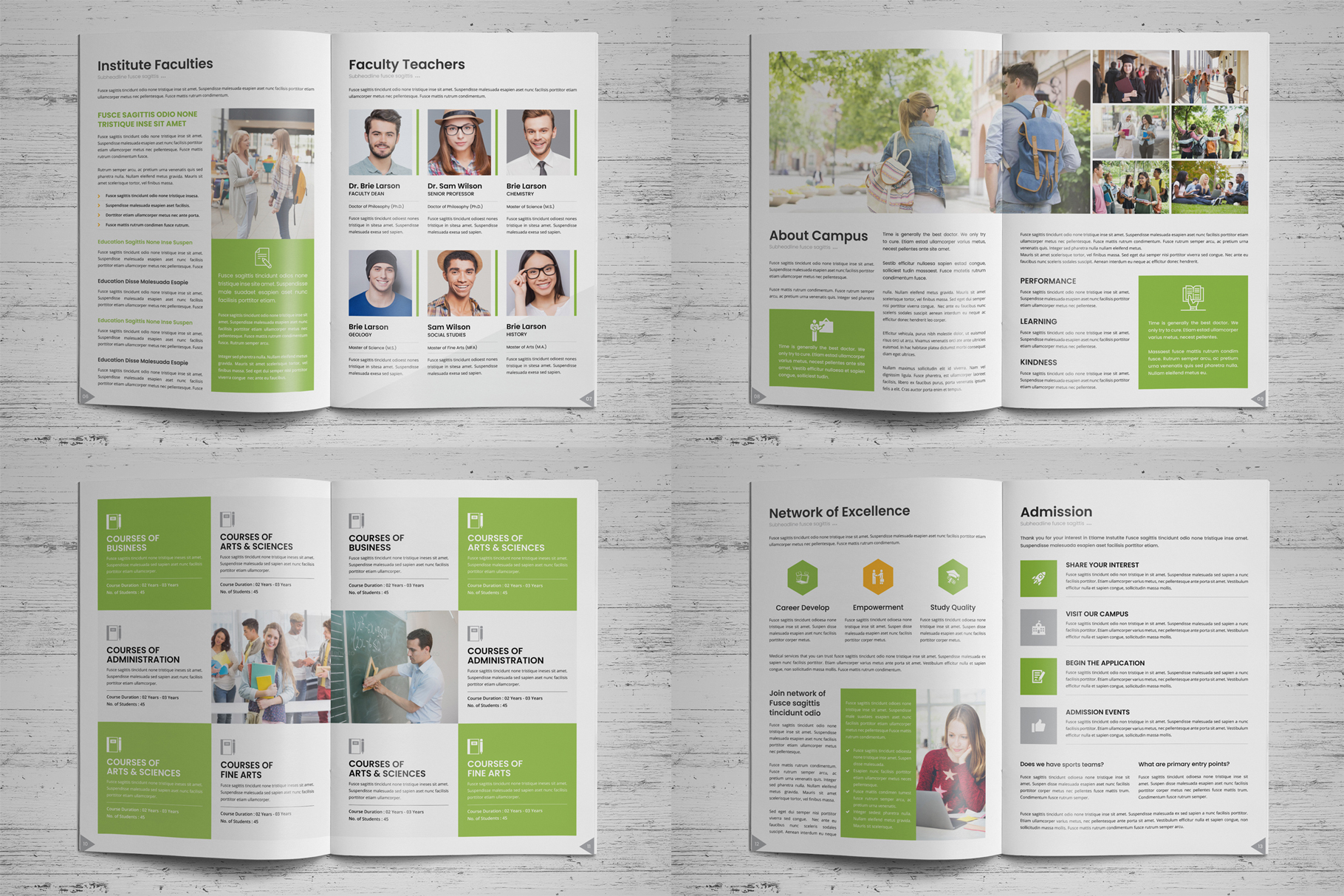 Education Prospectus Brochure v7 example image 17