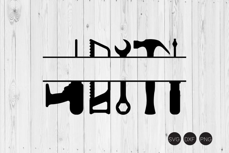 Tool Monogram SVG example image 1