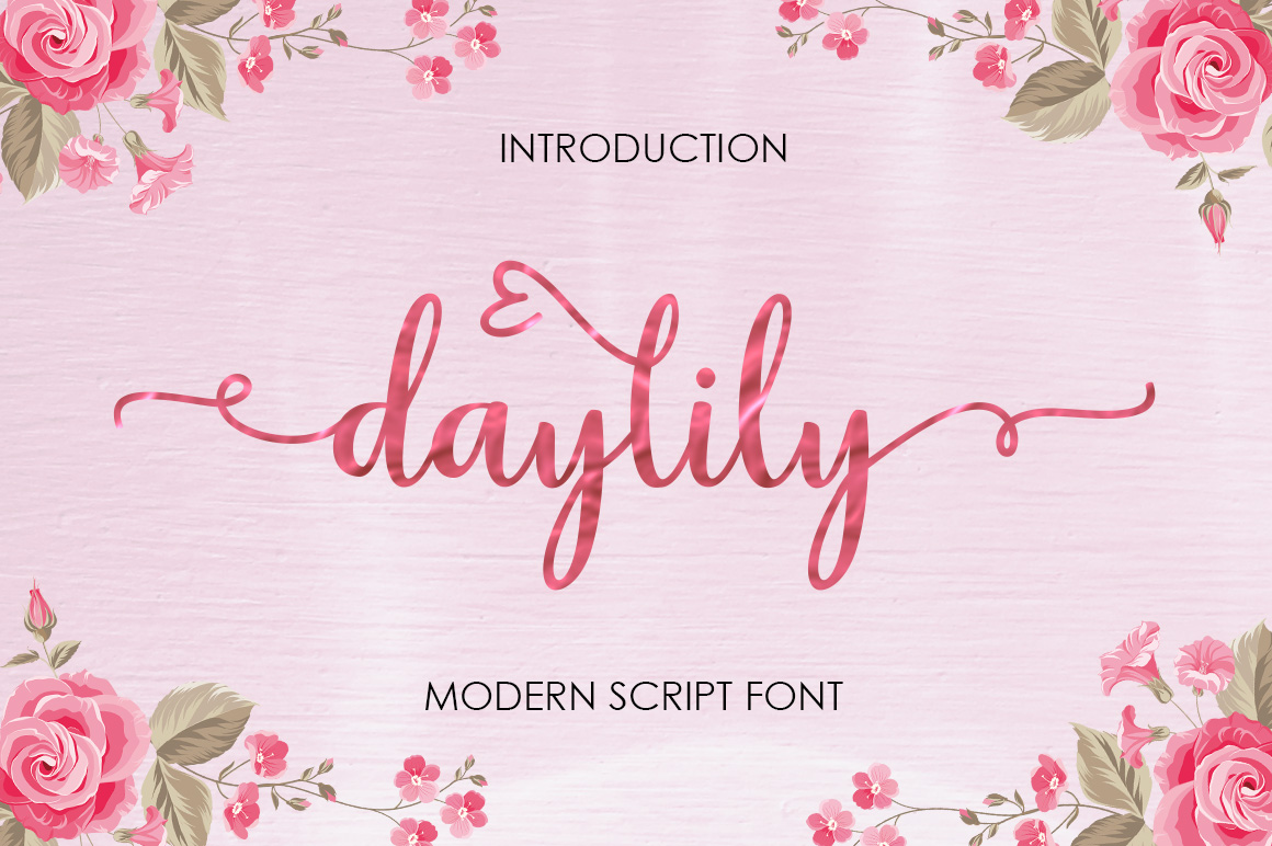 Daylily Script example image 1