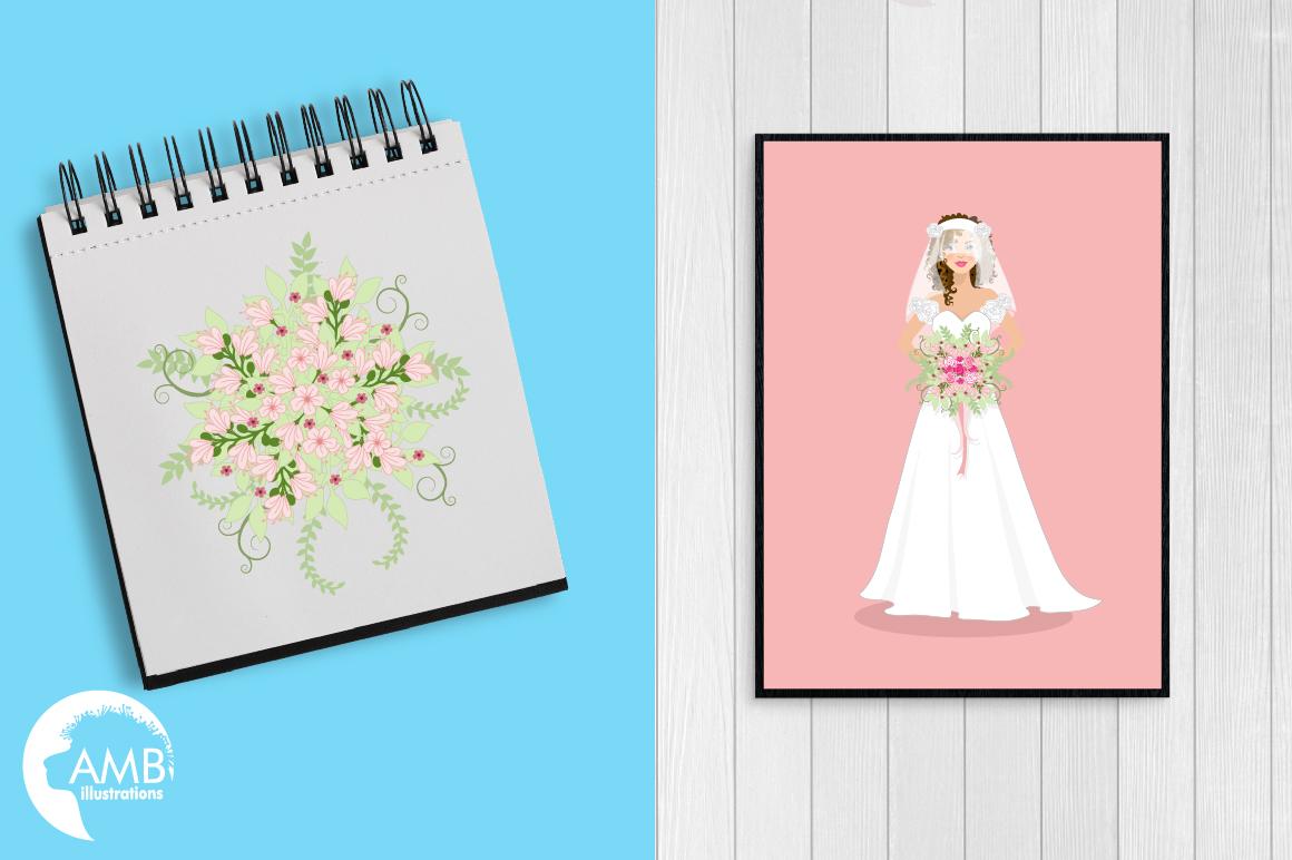 Wedding Bride cliparts AMB-937 example image 5