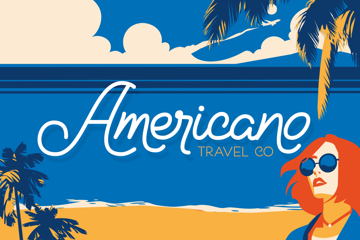 Holiday Travel Font Duo example image 4