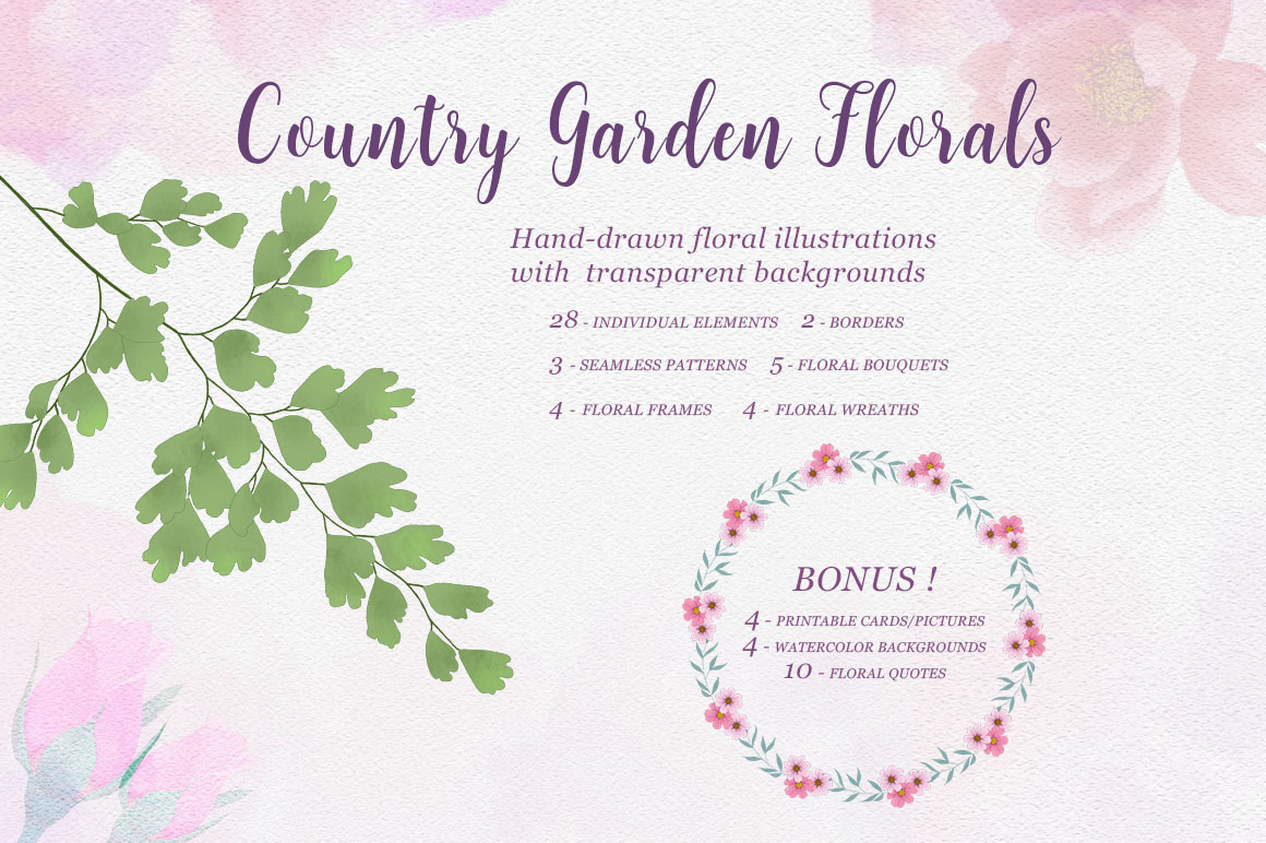 Country Garden Florals example image 1