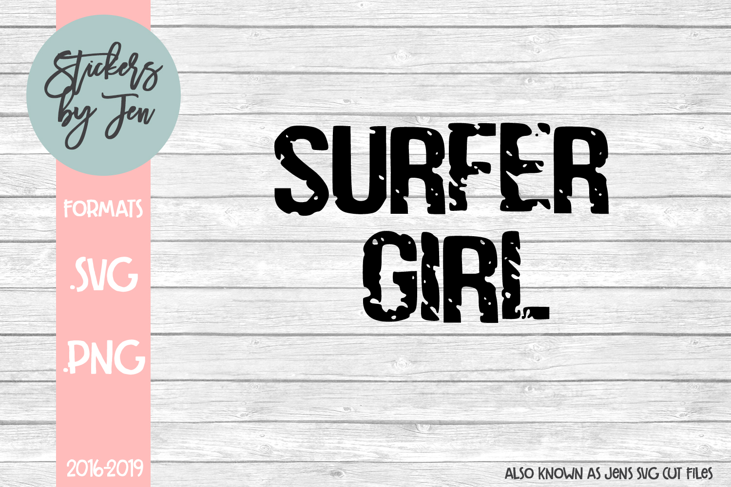Surfer Girl svg cut file example image 1