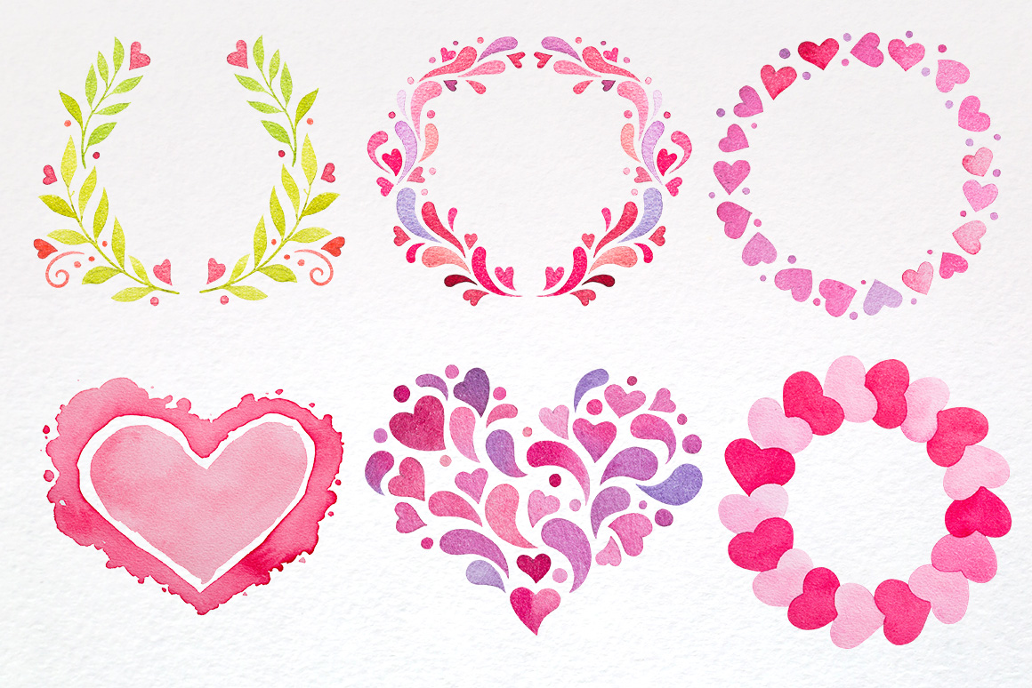 Valentine Day Design Kit example image 3