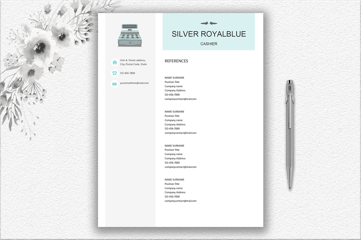 Resume Template Salesperson | Retail | Cashier | Customer Service example image 2