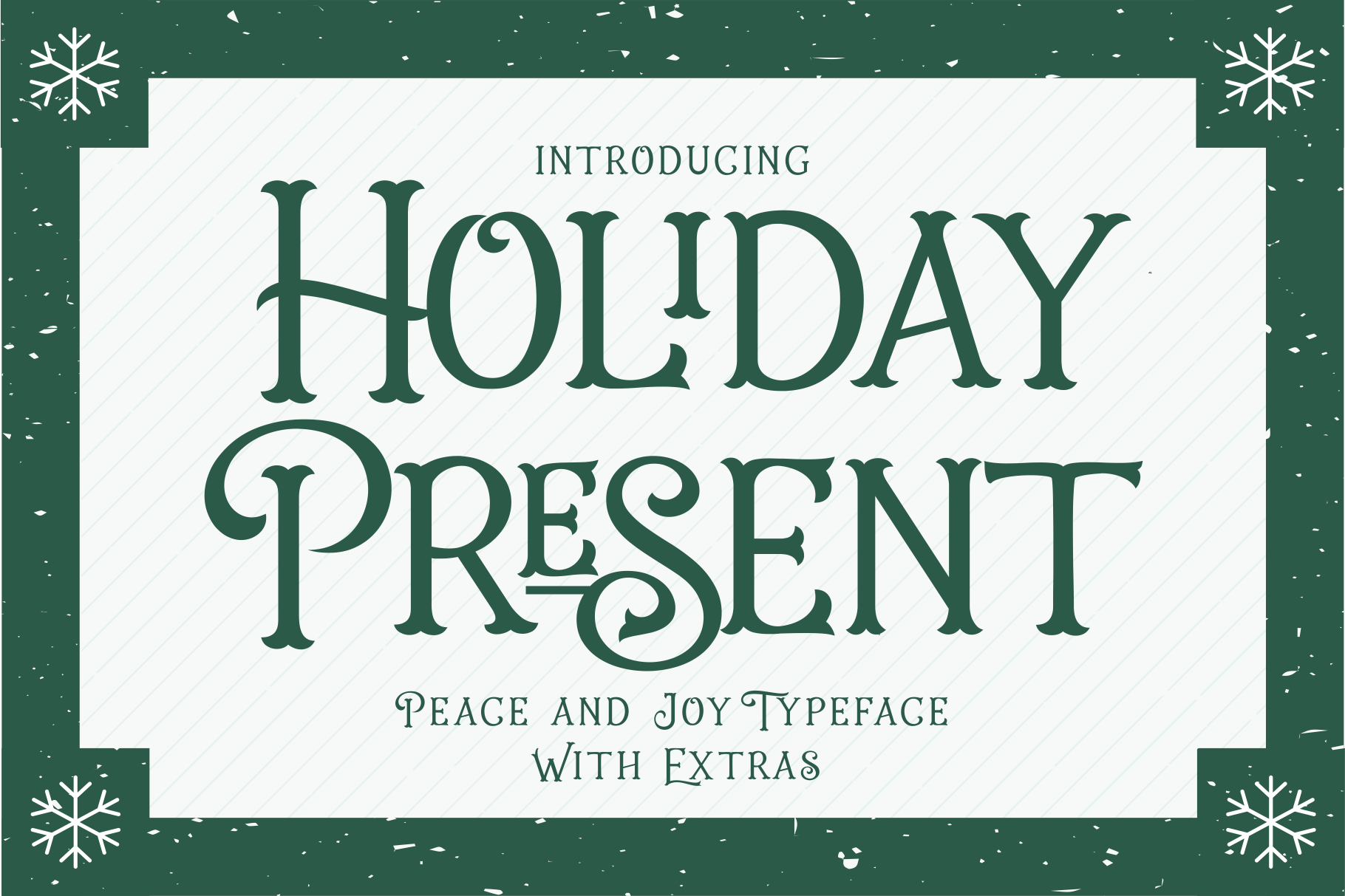 Holiday Present Fonts example image 1