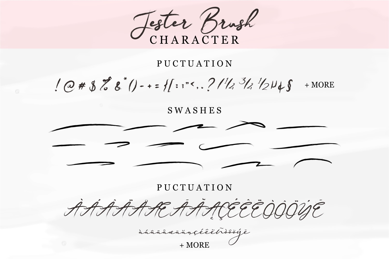 Jester Brush example image 13