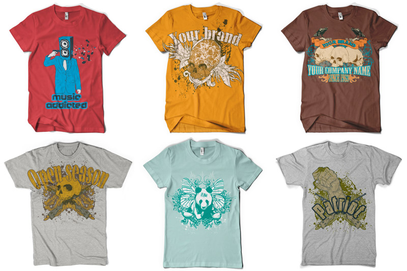 100 T-shirt Designs Vol 1 example image 11