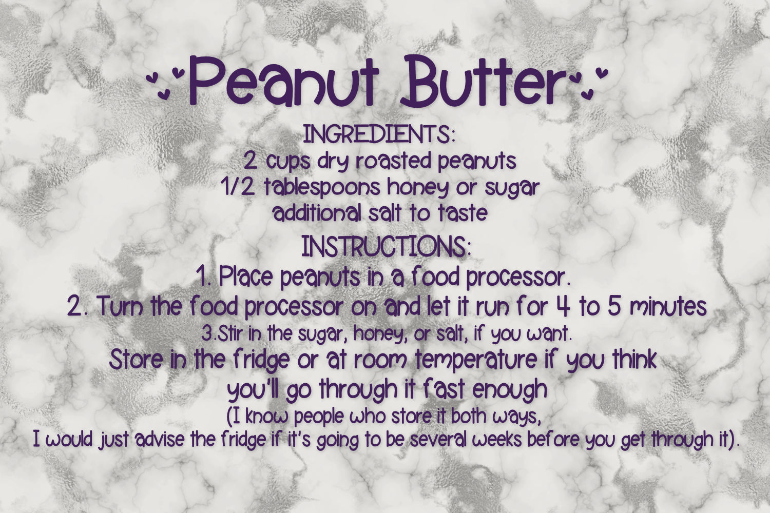 Peanut Butter And Jealous A Handwritten Font Duo example image 3