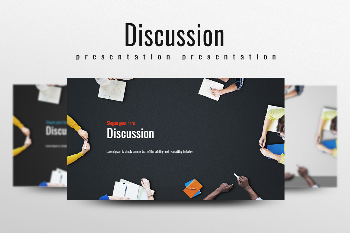 Discussion PPT example image 1