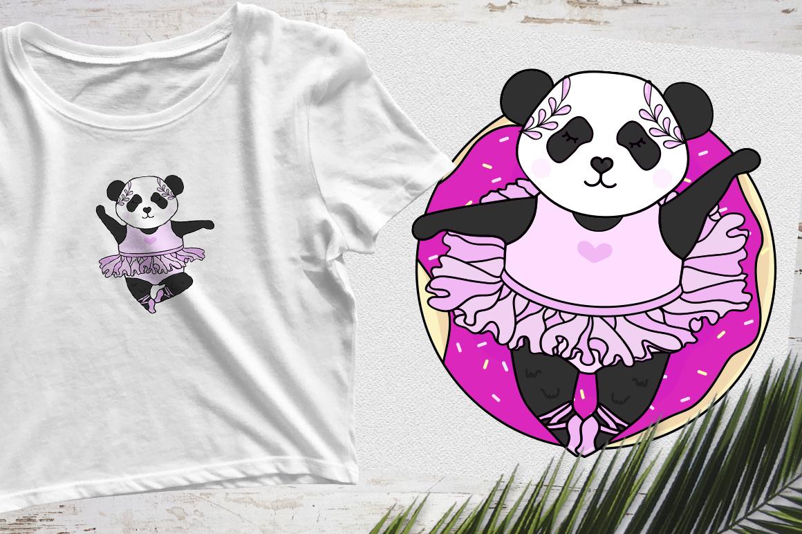 Panda Ballerina Set example image 4