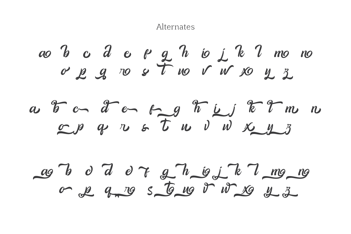 Amigos Typeface example image 8