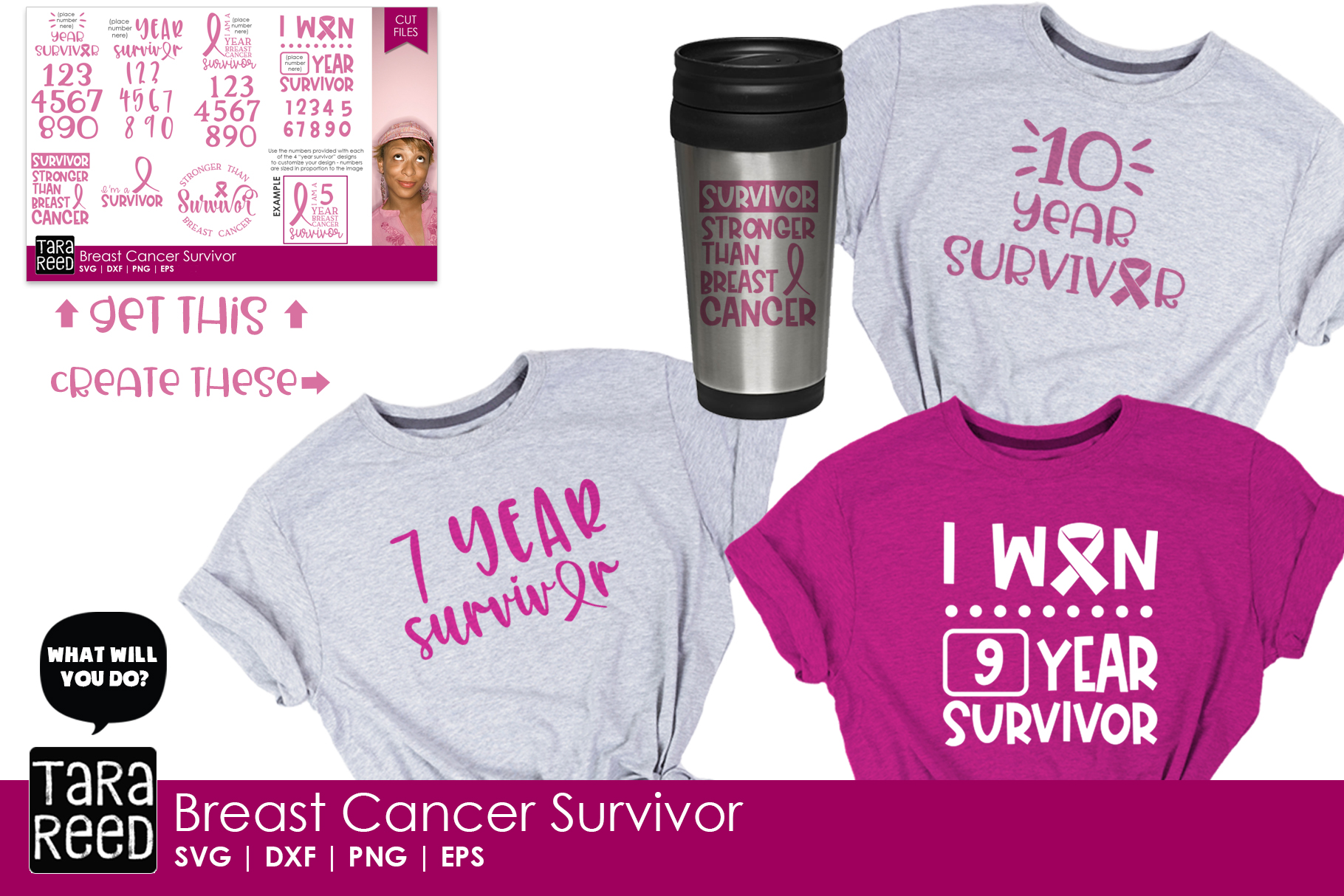Breast Cancer Survivor Bundle example image 2