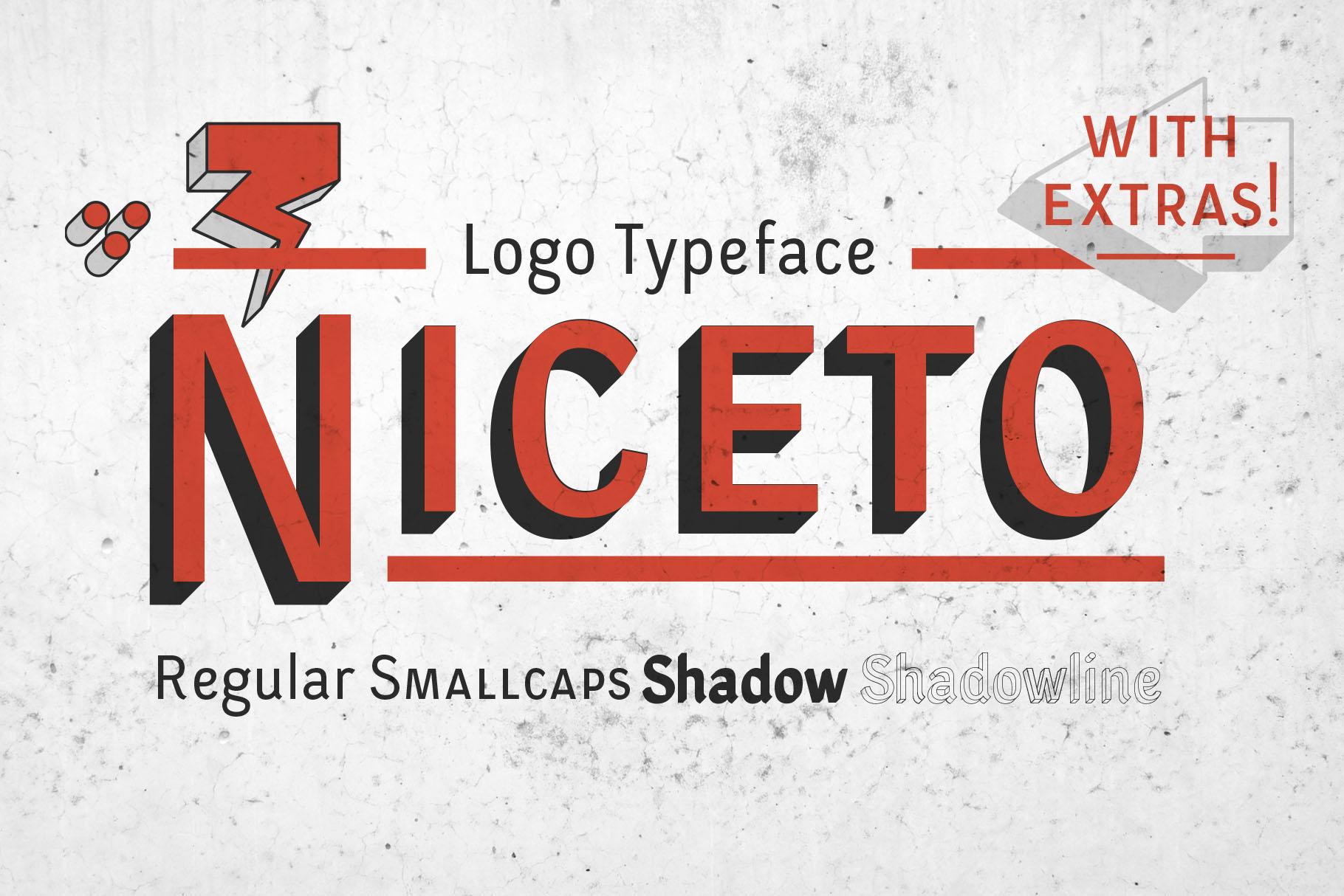 Niceto Typeface example image 1