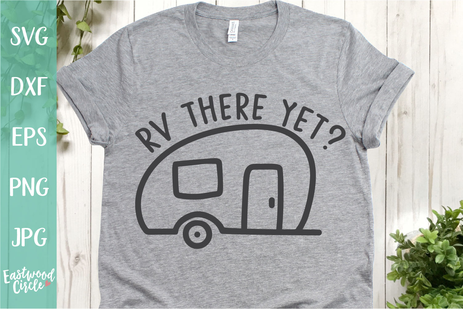 RV There Yet - A Camping SVG example image 1
