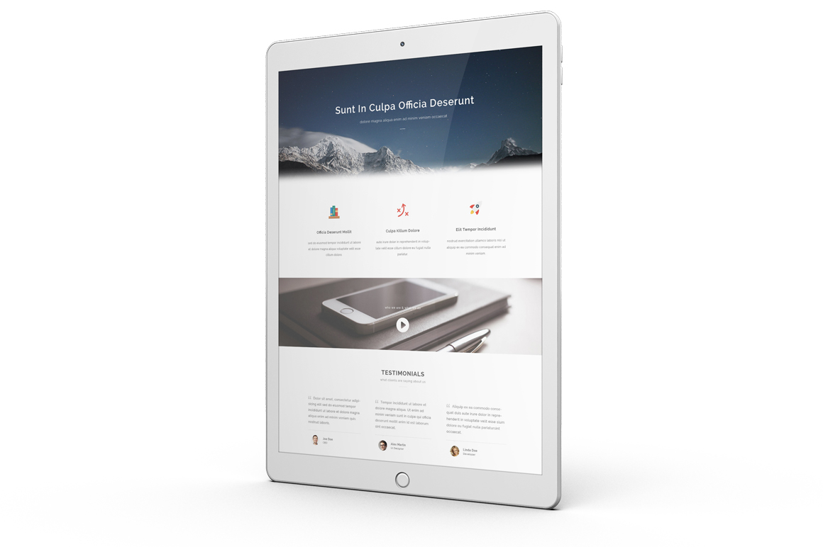 iPad Pro Mock-up vol1 example image 7