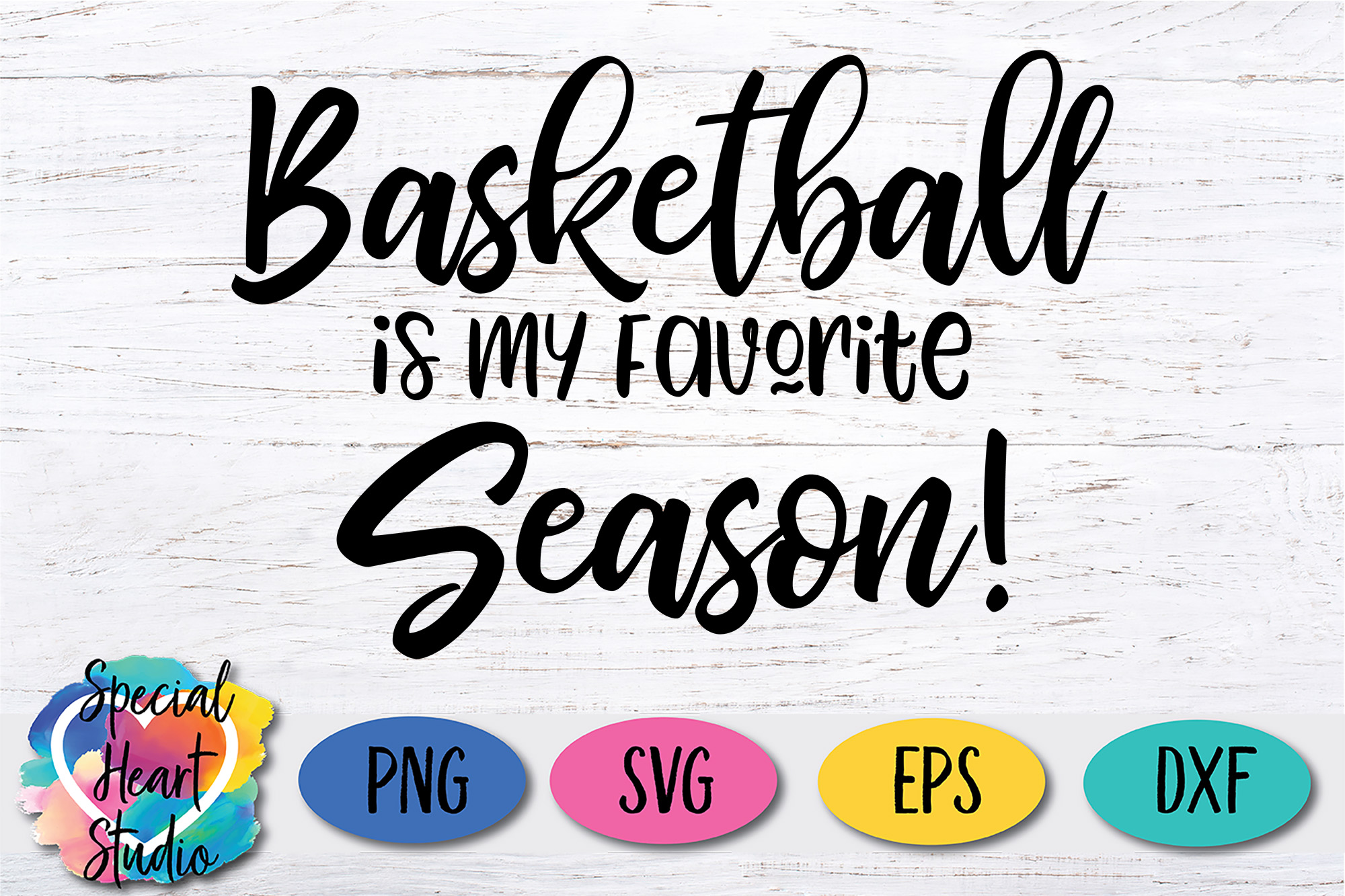 Basketball Is My Favorite Season - A Basketball SVG Cut File example image 2