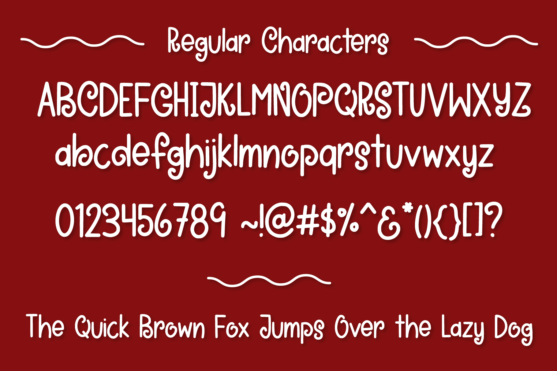 Oh Sweet Mrs. Claus Font Duo example image 3