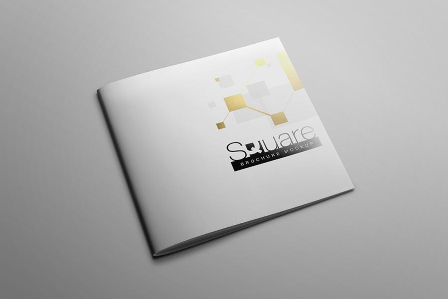 Square Brochure Mockup example image 3