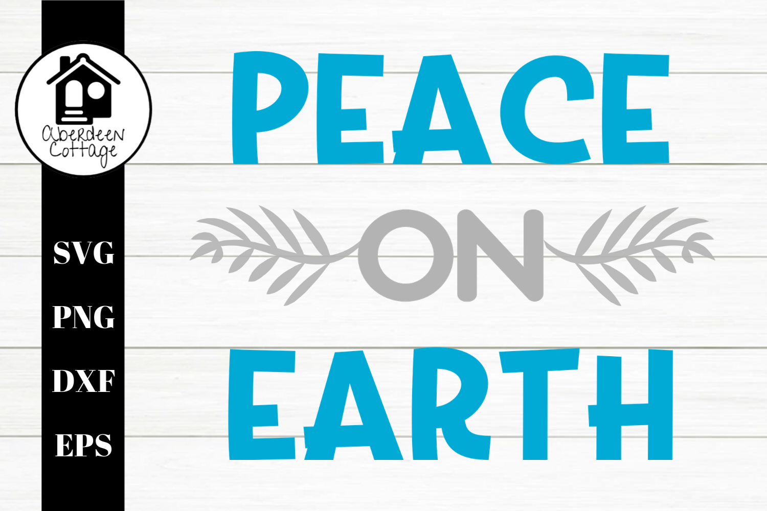 Peace On Earth 2 SVG | PNG | DXF | EPS example image 2