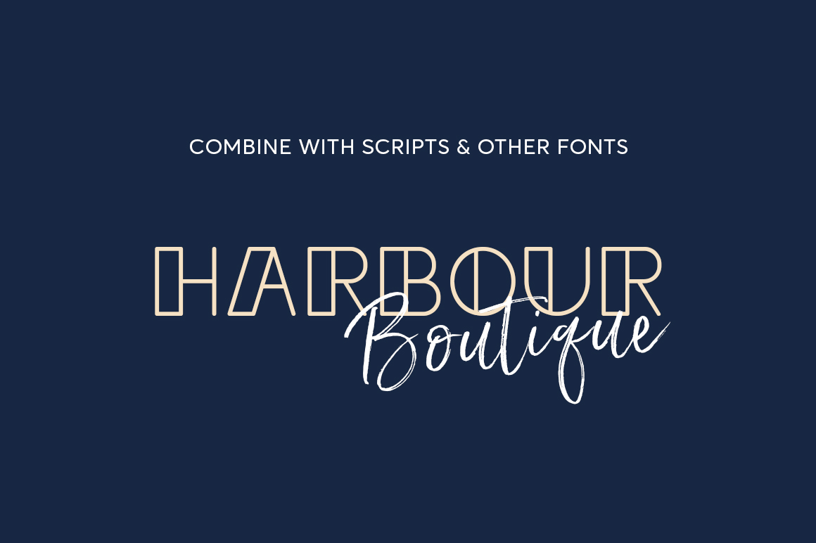 Sailor Girl Font Duo example image 5