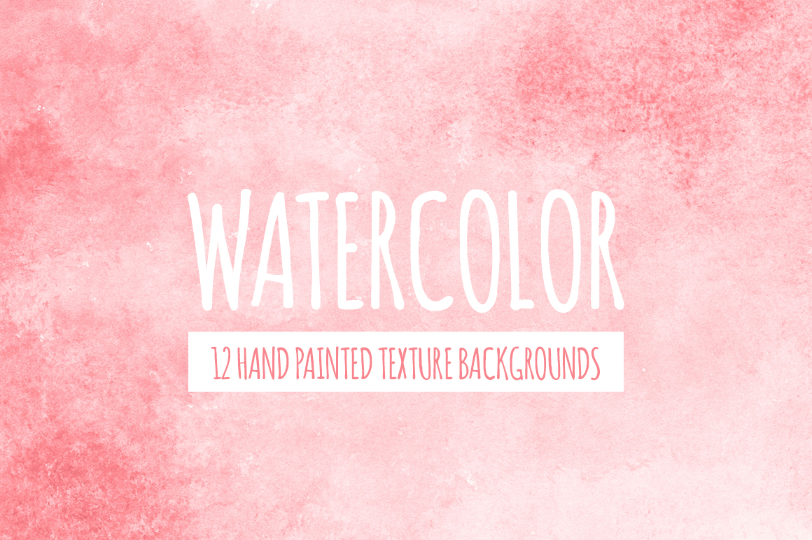 Watercolor Texture Bundle + Bonus example image 5