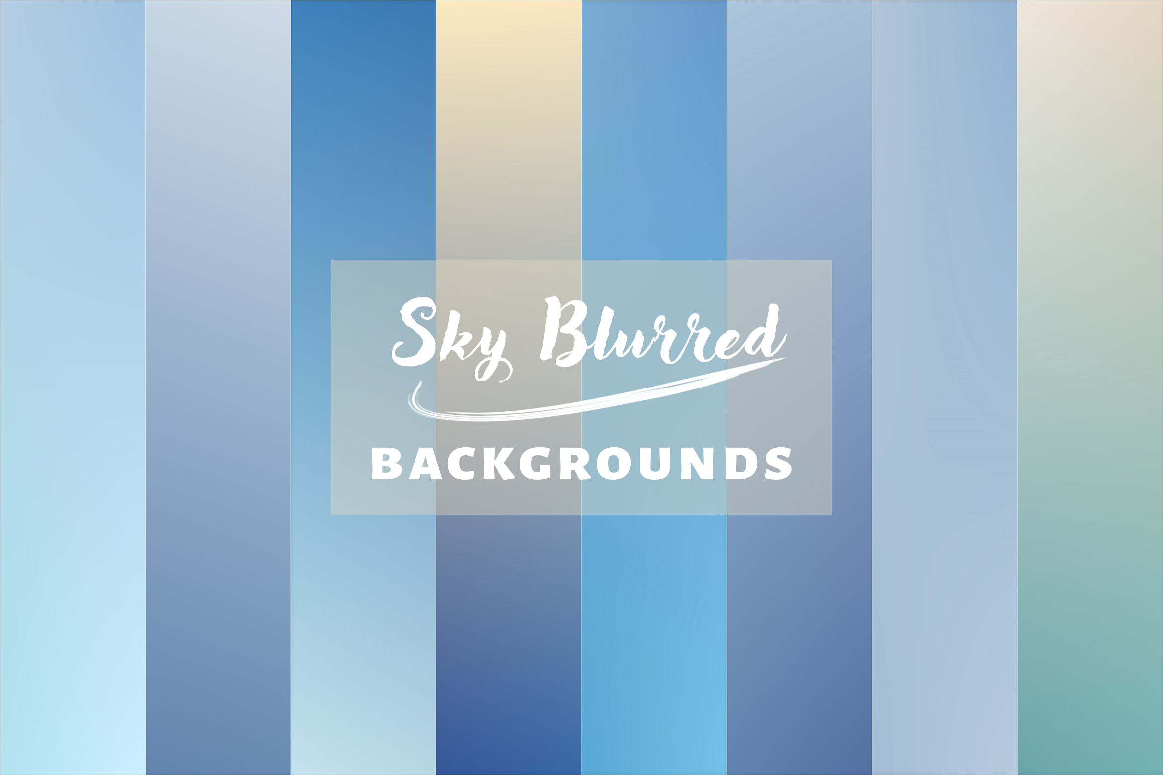 20 Sky Blurred Backgrounds JPG in High Resolution example image 4