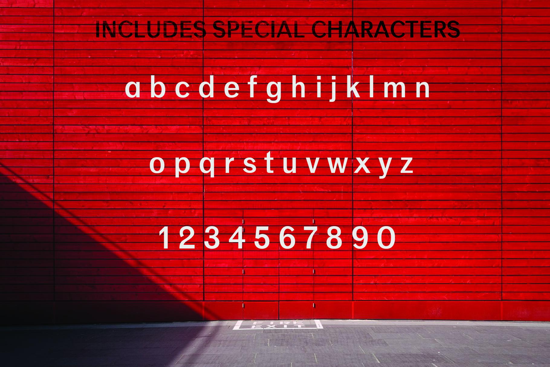 ANASTASIA, A modern typeface example image 6